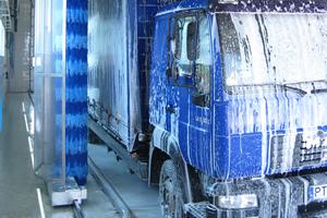 Automatyczne myjnie samochodów ciężarowych, autobusów, trojlebusów