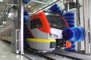 Automatyczne myjnie pociągów, zespołów trakcyjnych, wagonów