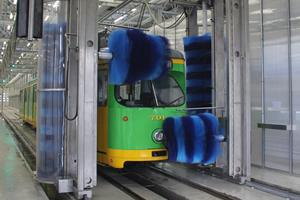 Automatyczne myjnie tramwajów